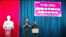 Bắc Giang tuyên dương sỹ quan Quân đoàn 2 cứu người