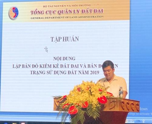 bac giang to chuc hoi nghi tap huan nghiep vu kiem ke dat dai nam 2019