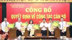 Điều động, bổ nhiệm hàng loạt lãnh đạo trẻ tại Bắc Giang