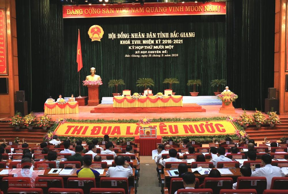 Ông Lê Ô Pích được bầu làm Phó Chủ tịch UBND tỉnh Bắc Giang
