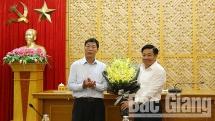 Bắc Giang: Ông Dương Văn Thái nhận chức Phó Bí thư Tỉnh ủy