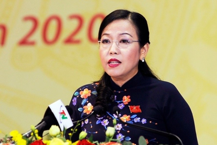 Bà Nguyễn Thanh Hải tái đắc cử Bí thư Tỉnh uỷ Thái Nguyên