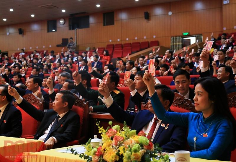 Danh sách Ban Chấp hành Đảng bộ tỉnh Bắc Giang khóa XIX, nhiệm kỳ 2020 - 2025