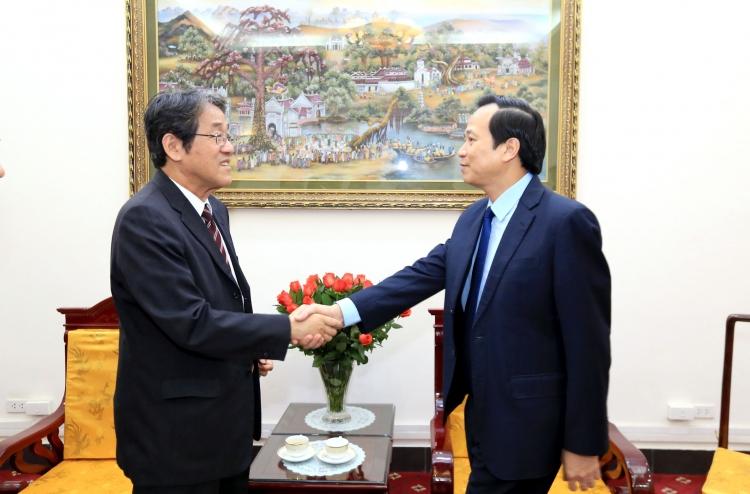 Tăng cường hợp tác về lao động kỹ năng đặc định giữa Việt Nam và Nhật Bản