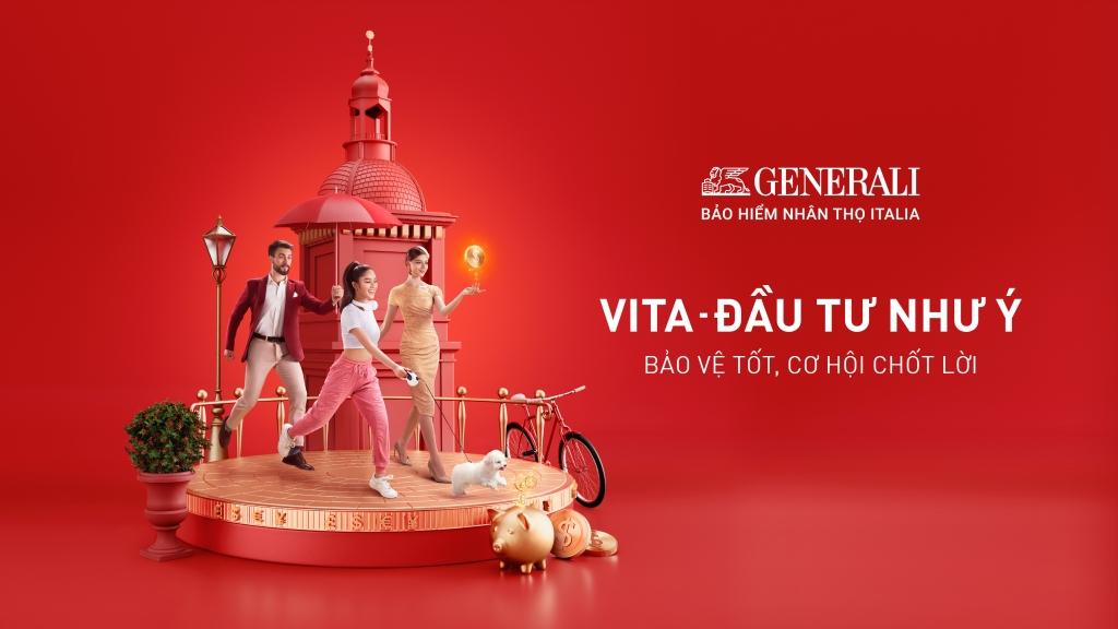 enerali Việt Nam ra mắt VITA – Đầu Tư Như Ý, được thiết kế đặc biệt nhân dịp kỷ niệm 10 năm thành lập Công ty, với tính linh hoạt và quyền lợi cạnh tranh, cơ chế đầu tư độc đáo