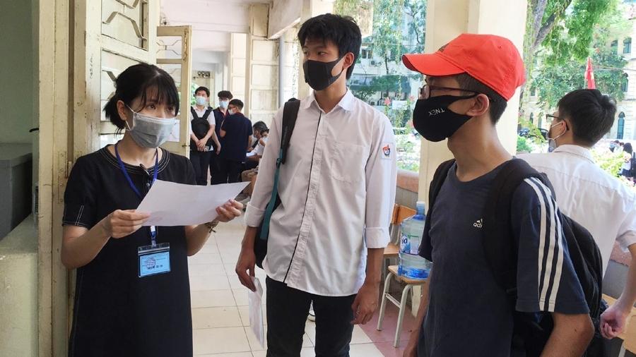 509 thí sinh Hà Nội không đến thi môn thi đầu tiên