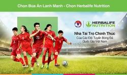 Herbalife tài trợ chính thức cho đội tuyển bóng đá Việt Nam
