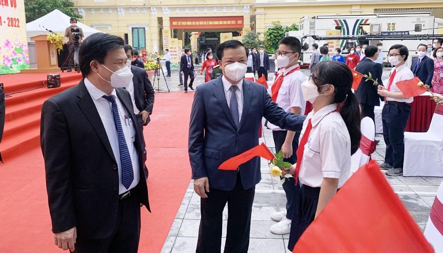 Hơn 2,1 triệu học sinh Thủ đô dự lễ khai giảng năm học 2021 - 2022