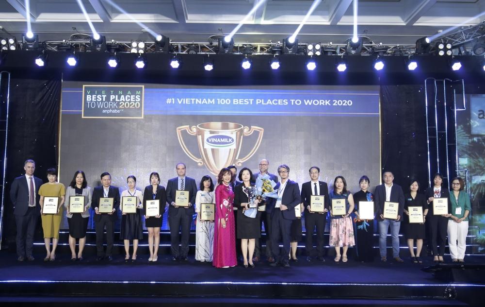 Vinamilk lần thứ ba liên tiếp được bình chọn là nơi làm việc tốt nhất Việt Nam