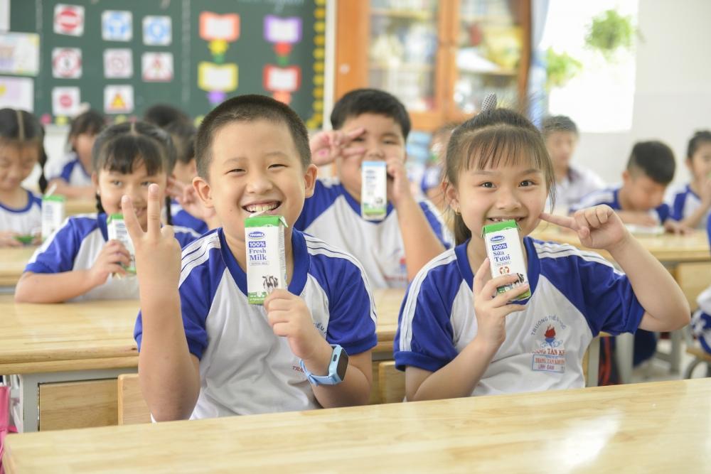 24 quận, huyện của TP HCM sẽ triển khai Sữa học đường
