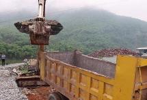 Thanh Hóa tháo dỡ công trình xây dựng lấn chiếm sông Mã
