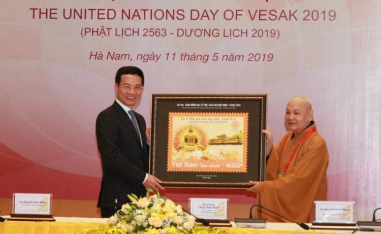 Phát hành bộ tem đặc biệt kỷ niệm Đại lễ Vesak 2019