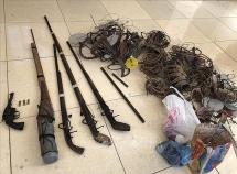 Bắt đối tượng buôn ma túy cực kỳ nguy hiểm ở Mường Nhé