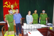 Thái Nguyên: Bắt nữ đối tượng, thu số ma túy trị giá 9 tỷ đồng