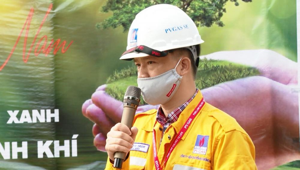 Lãnh đạo KĐN tại kêu gọi CBCNV tích cực tham gia trồng cây