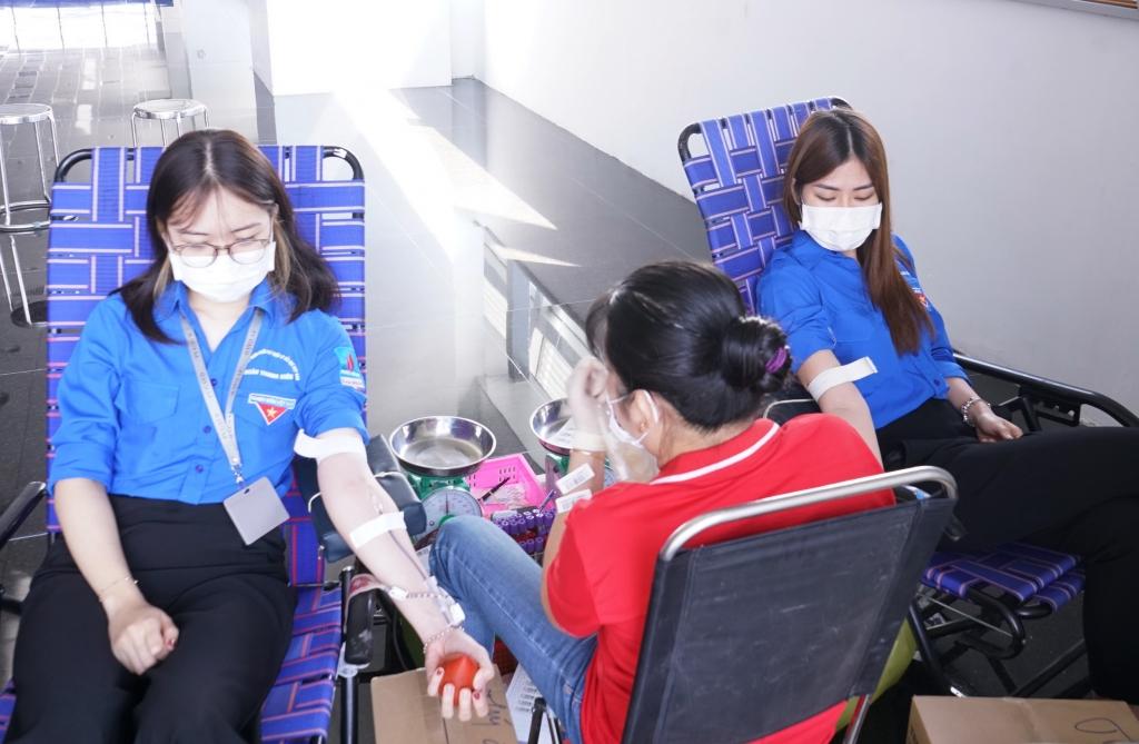 Khoảng 1/3 số người tham gia hiến máu nhân đạo là giới nữ