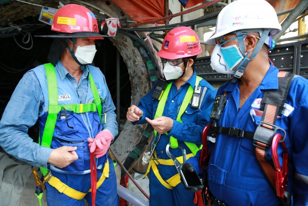 Trao đổi các biện pháp an toàn bảo dưỡng phân xưởng RFCC trong BDTT lần 4 năm 2020