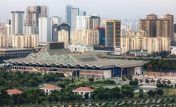 Một góc Thủ đô Hà Nội hiện đại, năng động. Ảnh: hanoimoi.com.vn.