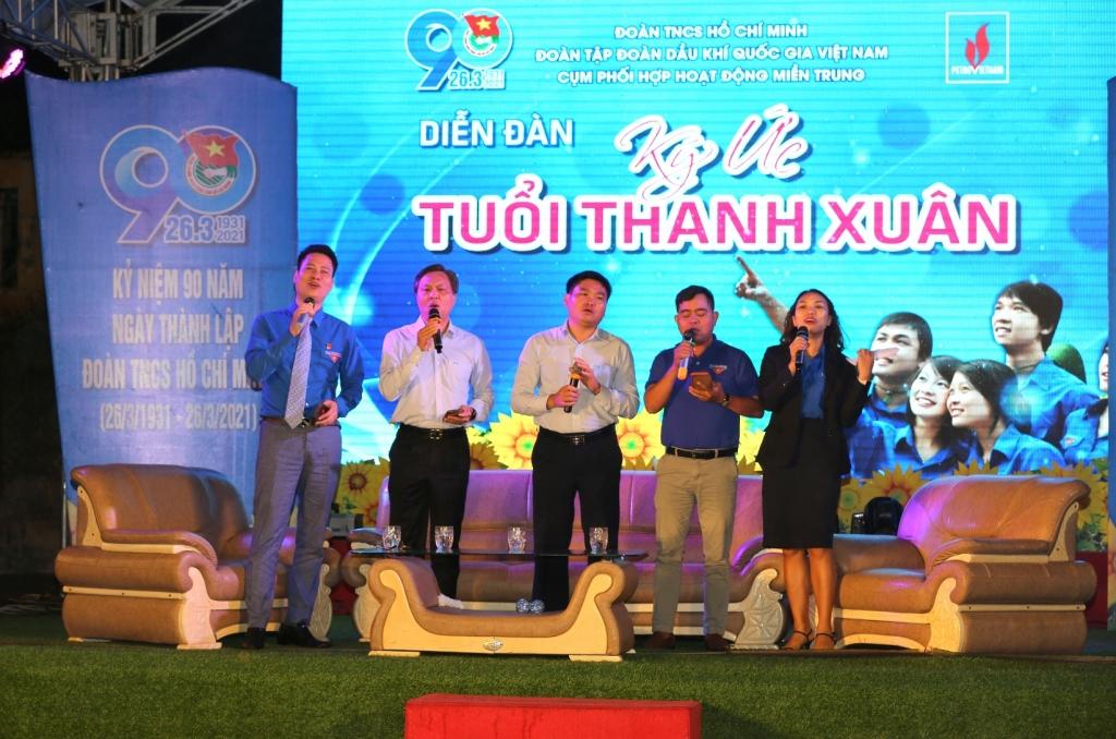 4 vị khách mời cùng hát tặng tuổi trẻ Dầu khí một ca khúc