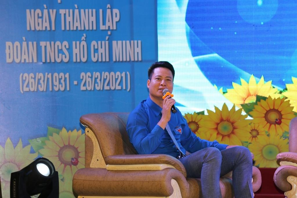 Anh Phan Sỹ Linh - Phó Bí thư Thường trực Đoàn Thanh niên Tập đoàn Dầu khí Quốc gia Việt Nam