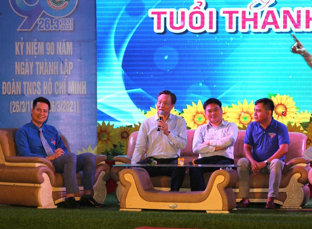 Anh Bùi Minh Tiến - Bí thư Đảng ủy, Tổng Giám đốc Công ty cổ phần Lọc hóa dầu Bình Sơn
