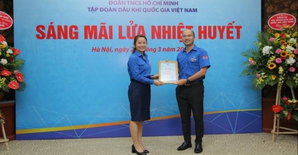 Đoàn Thanh niên PV GAS vinh dự đón nhận nhiều khen thưởng