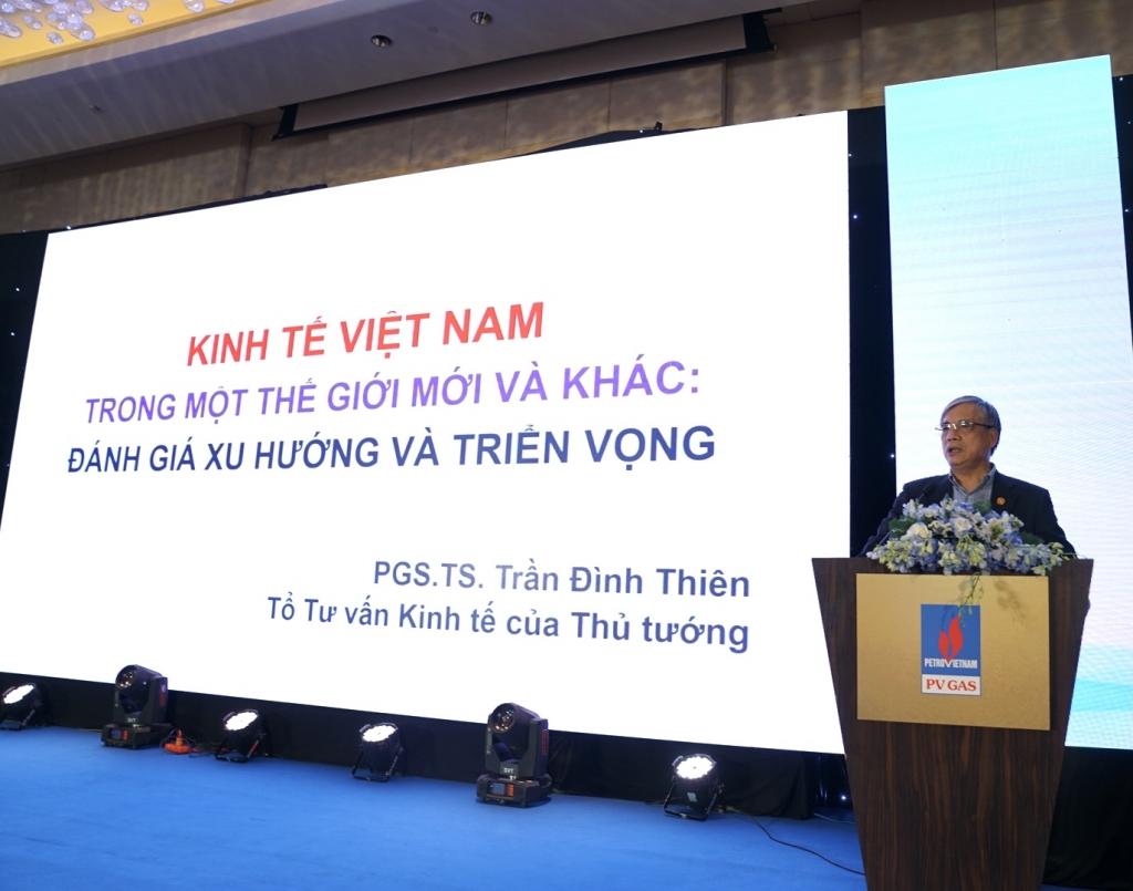 Phần trình bày của PGS, TS Trần Đình Thiên - Thành viên Tổ Tư vấn của Thủ tướng Chính phủ