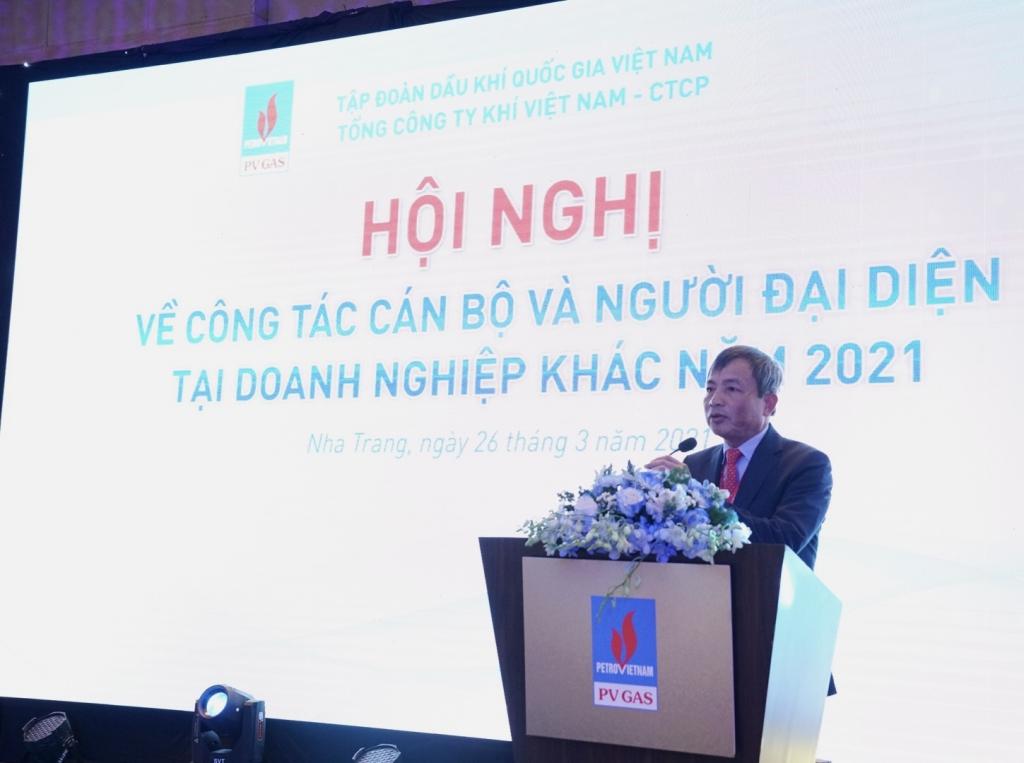 Phát biểu khai mạc Hội nghị về công tác cán bộ và Người đại diện năm 2021