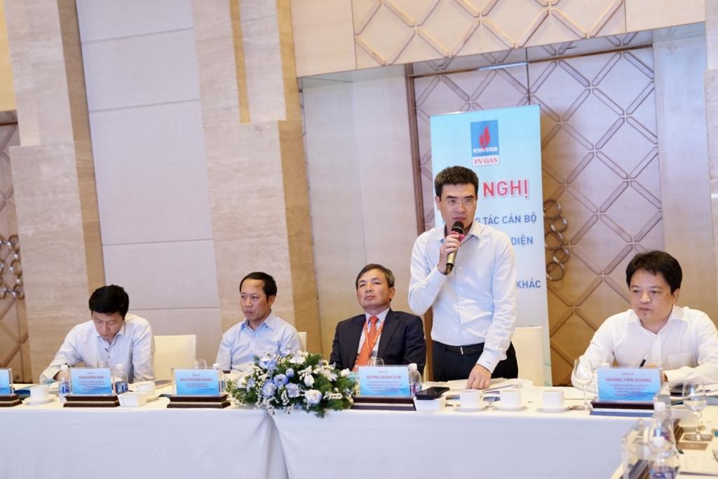 Phát biểu kết luận hội nghị của Bí thư Đảng ủy, Tổng giám đốc PV GAS Dương Mạnh Sơn