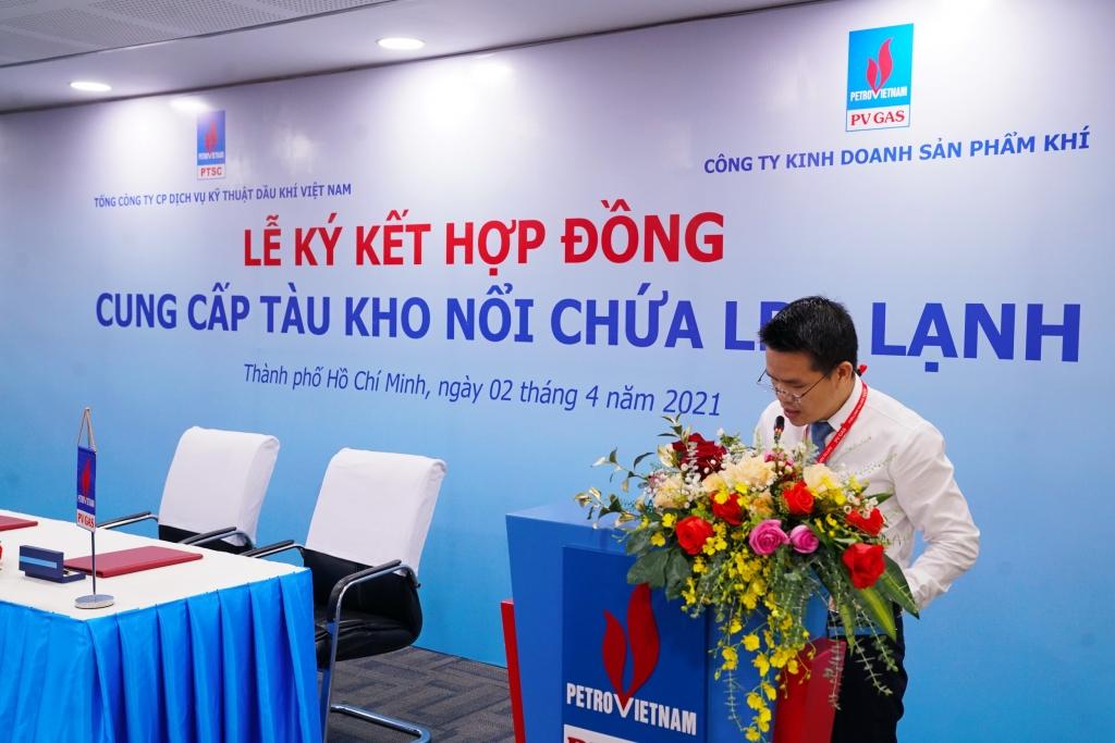 Phát biểu của PTGĐ PV GAS Phạm Văn Phong