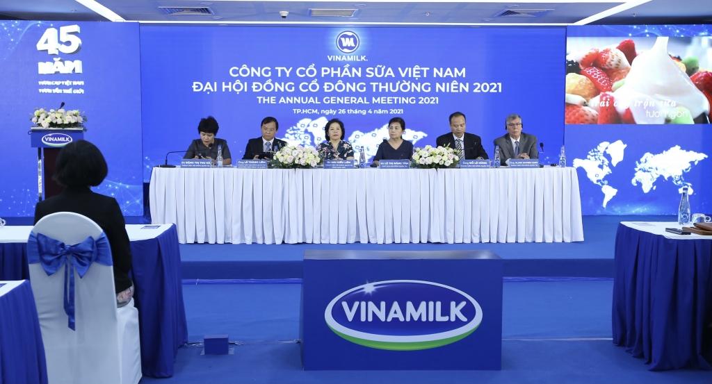 Toàn cảnh Đại hội đồng cổ đông Vinamilk 2021