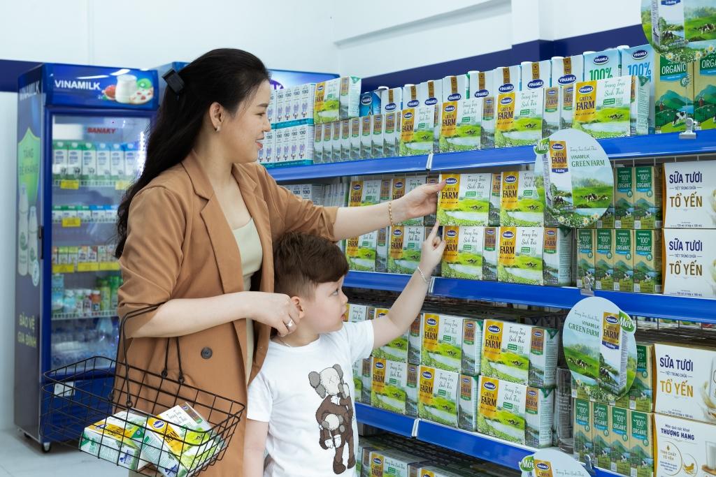 Sữa tươi Green Farm là sản phẩm nổi bật vừa được Vinamilk ra mắt người tiêu dùng vào cuối quý 1/2021