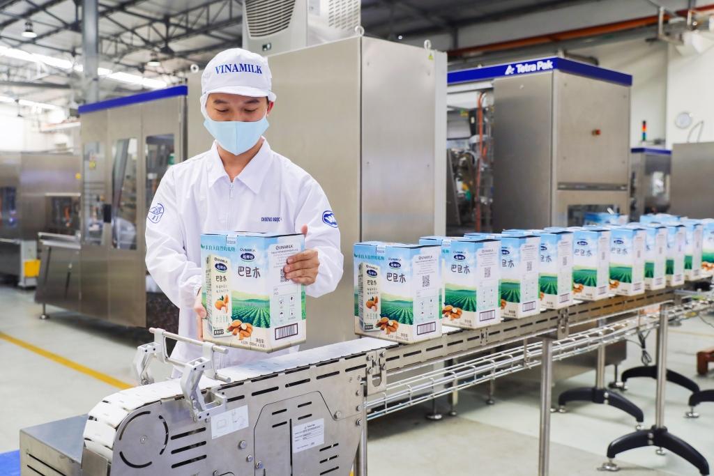 Các nhà máy của Vinamilk đáp ứng được các tiêu chuẩn xuất khẩu
