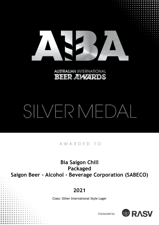 Bia Saigon Chill Medal