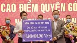 PV GAS tiếp tục ủng hộ 10 tỷ đồng cho Quỹ vắc-xin phòng Covid-19
