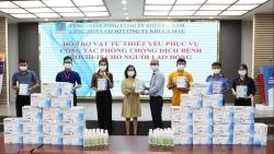 Công đoàn PV GAS triển khai các chương trình phòng dịch Covid-19