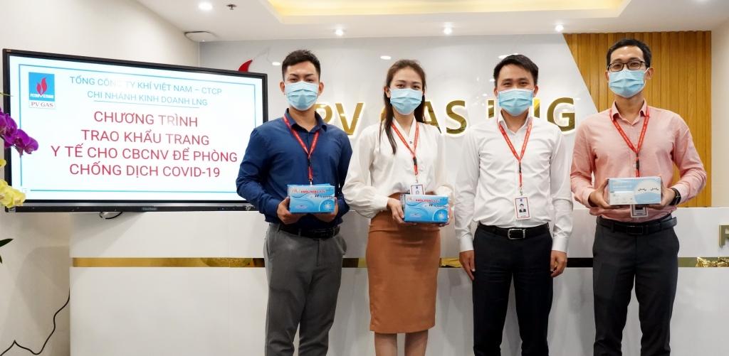 PV GAS chăm lo, hỗ trợ người lao động phòng dịch, bảo vệ sức khỏe