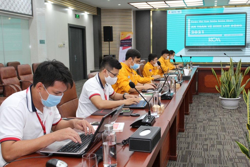 Khuyến khích NLĐ tham gia các cuộc thi trực tuyến, trau dồi kiến thức an toàn lao động