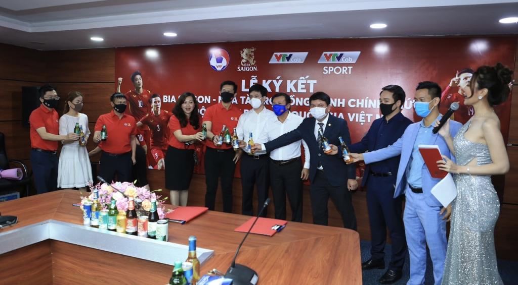 SABECO chính thức trở thành đối tác đồng hành cùng Đội tuyển bóng đá Quốc gia Việt Nam