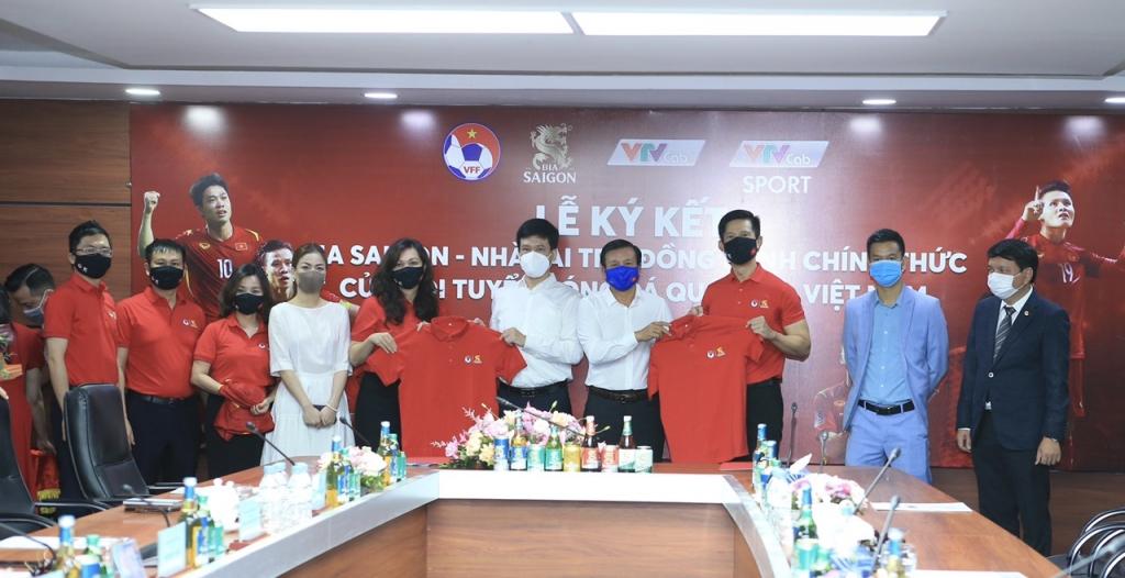 SABECO chính thức trở thành nhà tài trợ của đội tuyển bóng đá quốc gia Việt Nam