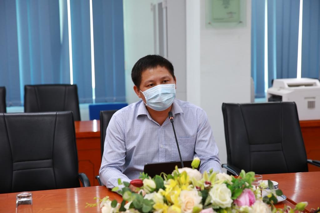 Tổng Giám đốc BSR Bùi Minh Tiến chủ trì cuộc họp trực tuyến phòng chống dịch Covid-19.