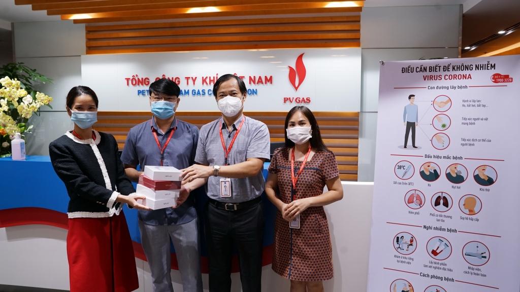 Món quà động viên tinh thần từ BCH Công đoàn CQĐH gửi tới Trung tâm Điều độ Khí VN – vùng Zone 0 của PV GAS