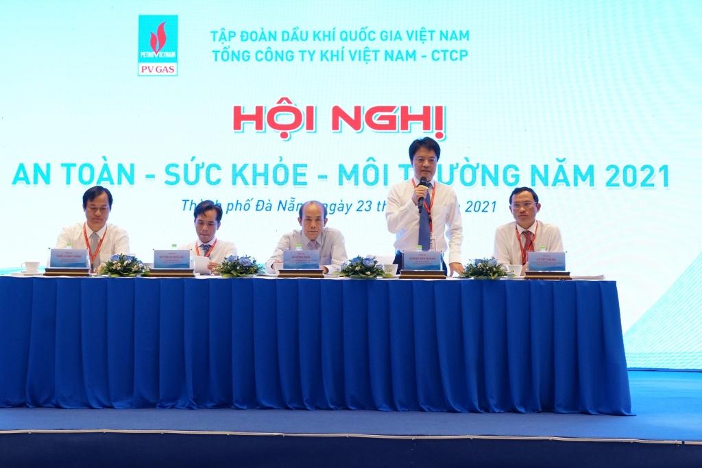 Hội nghị An toàn Sức khỏe Môi trường 2021 của PV GAS