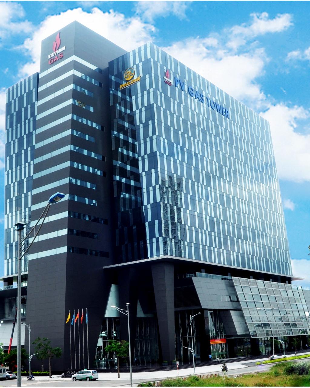 Tòa nhà PV GAS Tower - nơi đặt trụ sở của PV GAS tại Tp.HCM