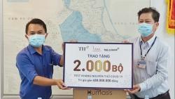 BAC A BANK tặng 2.000 bộ xét nghiệm nhanh Covid-19 giúp An Giang chống dịch