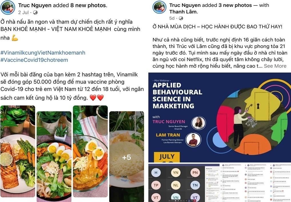 Trổ tài nấu ăn, tham gia các buổi chia sẻ kiến thức trực tuyến là cách để Thạch Trúc giữ năng lượng và lan tỏa tinh thần tích cực đến bạn bè