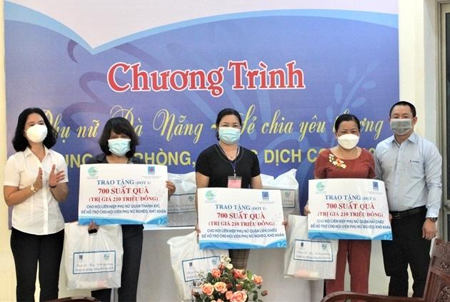 Gửi tặng quà hỗ trợ đến 7 quận, huyện Đà Nẵng