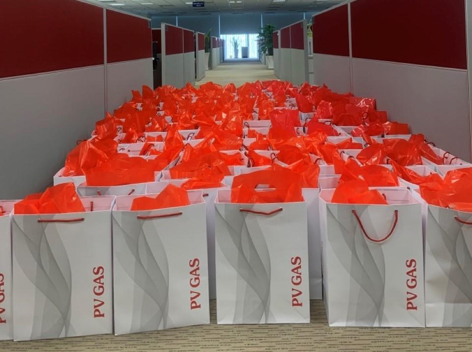 Những món quà quý trọng được gửi tới 181 cán bộ hưu trí của PV GAS