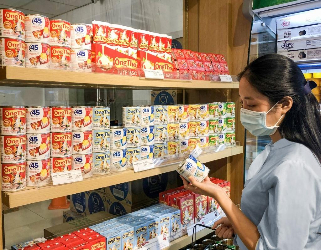 Sữa đặc Ông Thọ với nhiều dòng sản phẩm, bao bì đa dạng đáp ứng mọi nhu cầu của người tiêu dùng ở khắp nơi