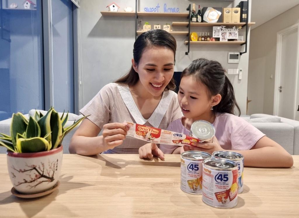 Sữa đặc Ông Thọ là sản phẩm gắn bó với nhiều thế hệ gia đình Việt trong 45 năm qua